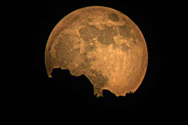 Poster Full Moon Nacht Himmel Draußen Moonlight Glow Download