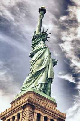 Poster Statue Of Liberty Architektur New York Freedom