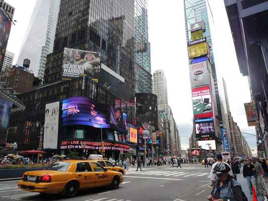 Poster USA New York Stadt Nyc Broadway Time Download