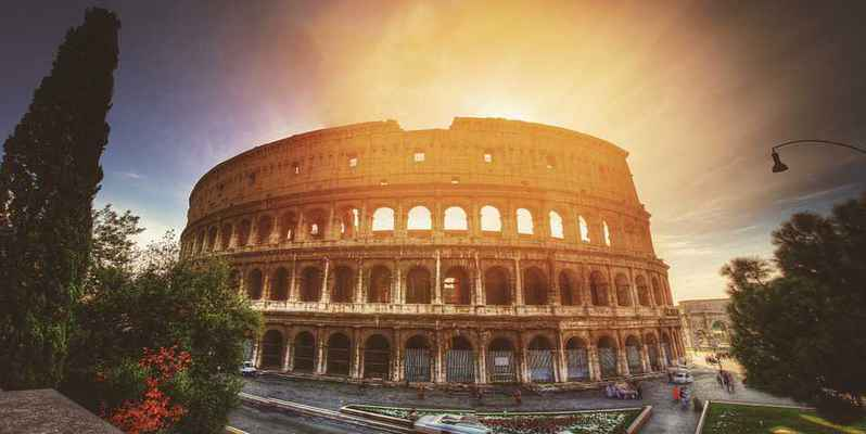 Poster Colosseum Europe Italien Rome Reisen Architektur Wahrzeichen Download