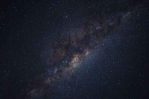 Poster Milky Way Galaxy Stars Universe Astronomy Astrophotography