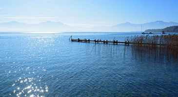 Poster Chiemsee See Wasser Download