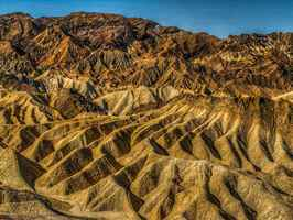 Poster Death Valley National Park Zabriskie Point Natur
