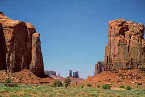 Poster Monument Valley Utah Wild West USA Navajo
