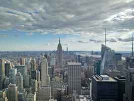 Poster New York Stadt Rockefeller Center Top Of
